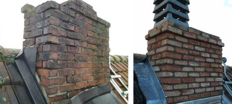 Schoorsteenrenovatie, Royaal Dakonderhoud, schoorsteen renoveren